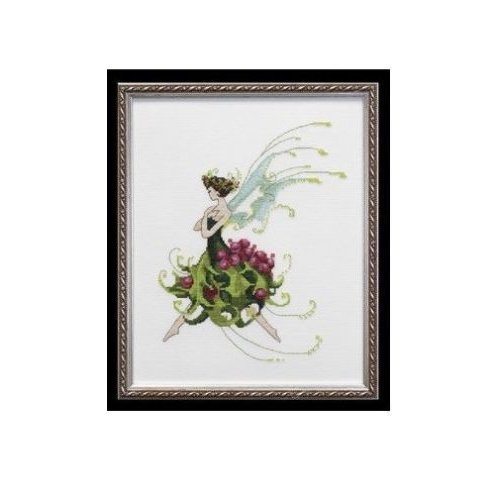 Pixie Couture Collection Holly Counted Cross Stitch Chart Pattern