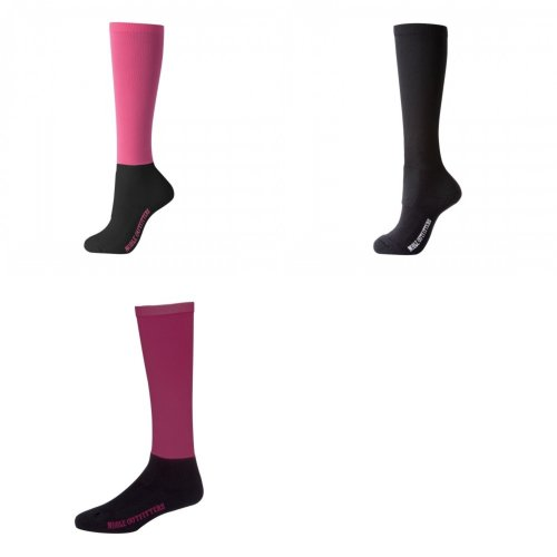 Noble Outfitters Womens/Ladies Over The Calf Solid Peddies