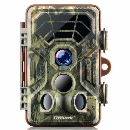 Campark Wildlife Trail Camera HD Waterproof Hunting Cam 120° Wide Angle Motion Activated Night Vision Infrared for Outdoor and Home Security...