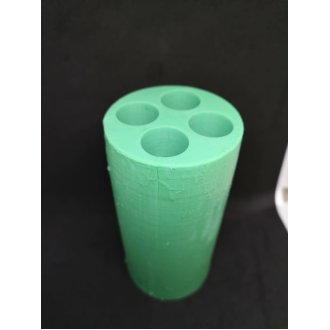 4-Cavity GENUINE Silicone Mould For Pillar Candles Authentic UK Stock