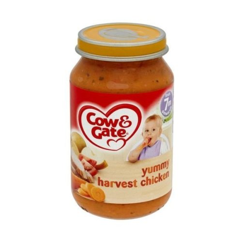 Cow & Gate 7Mths Harvest Chick Jar (6 x 200g)