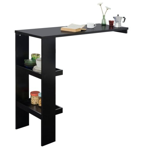 SoBuy® FWT55-SCH, Wall Mounted Kitchen Breakfast Bar Table Dining Table