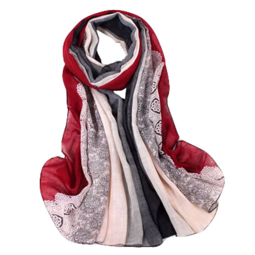 Fashion Scarves Winter Warm Cotton&Linen Scarf Infinity scarf,Wine Red