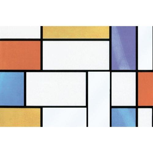 Multi-colour Fablon FAB12941 67.5 cm x 2 m Scrap Wood Roll