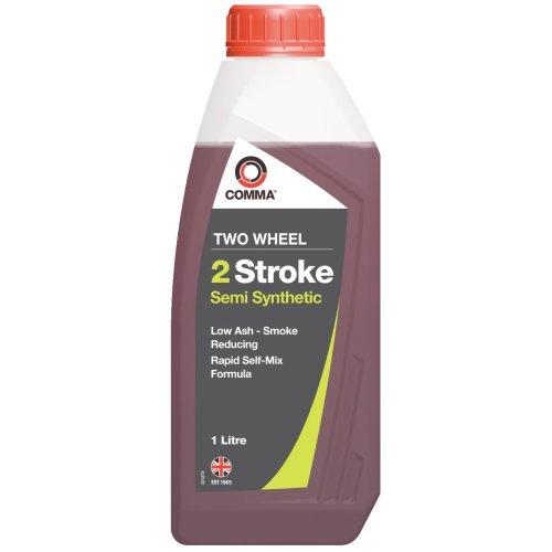 Comma TSTSS1L 1L Two Wheel 2 Stroke Semi Synthetic Motor Oil