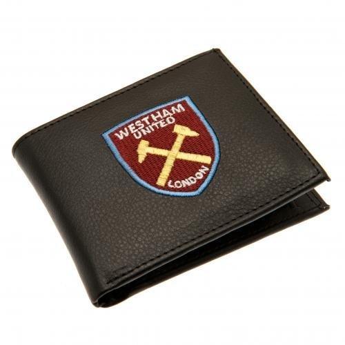 West Ham Crest Embroidered Pu Wallet - United Fc 7000 Football Club -  wallet west ham united fc 7000 embroidered football club