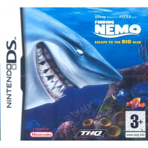 Finding Nemo - Finding Nemo : Escape To The Big Blue (Nintendo DS)