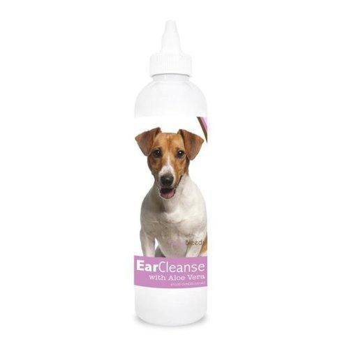 Healthy Breeds 840235117544 8 oz Jack Russell Terrier Ear Cleanse with Aloe Vera Sweet Pea & Vanilla