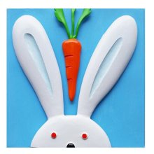 [Bunny&Carrot] 3D Paint-By-Number Kits DIY Painting Crafts for Kids Over 5Years