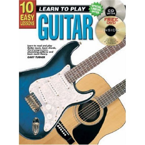 Teach Yourself Guitar: 10 Easy Lessons [Book + CD]