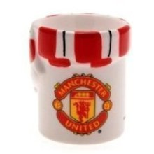 Manchester United Fc Scarf And Crest Egg Cup -  manchester united fc scarf crest egg cup