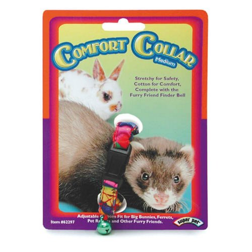 Superpet Cotton Comfort Pet Collar With Bell