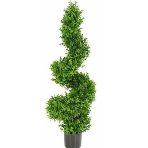 Artificial Buxus Topiary Spiral Tree