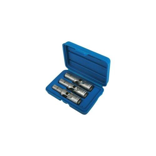 Glow Plug Socket Set - 3 Piece - 9,10,12mm