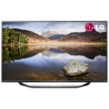 LG 55UF675V 55 Inch 4K Ultra HD LED TV Freeview HD USB Recording Titan Silver