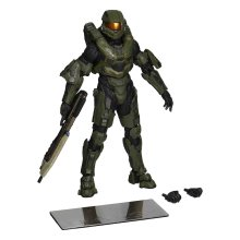 Halo 1/10 Scale Pre-Painted PVC Statue Master Chief with MJolnir