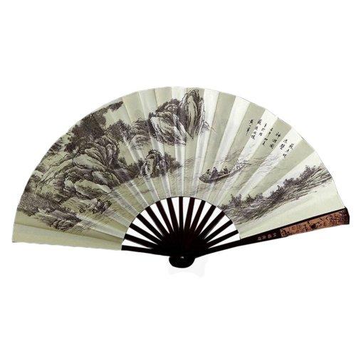 Creative Chinese Style Folding Fan Classical Process Fan