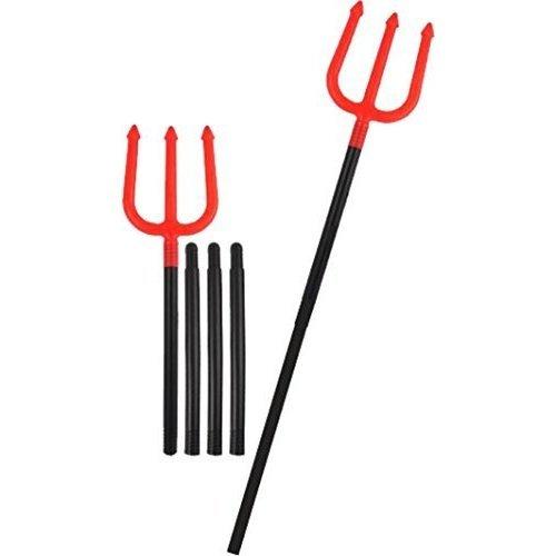 Halloween Devil Fork - Plastic Fancy Dress Trident Accessory -  devil fork halloween plastic fancy dress trident accessory