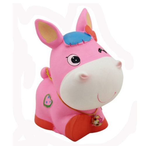 Pretty Cute Home Decor Ornament Money Banks Coin Banks, Pink Pony
