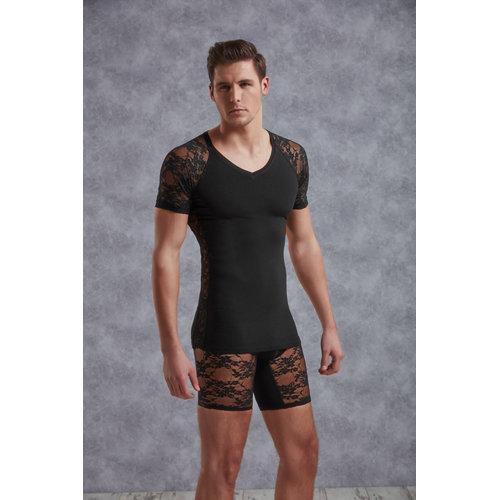 Doreanse T-Shirt Men - Black XXL Men's Lingerie Shirts - Doreanse