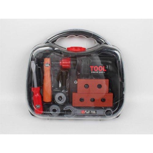 Vinsani Workbench DIY Tool Kit Playset Construction Building Carpenter Toys