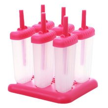 Reusable DIY Frozen Ice Cream Pop Molds Ice Lolly Makers
