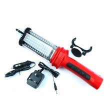 Led Worklamp Torch Cordless Rechargeable Work Light Magnetic Clamp & Hook 78 Led