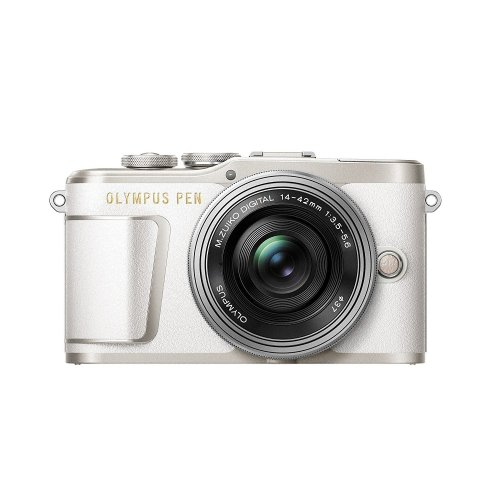 Olympus PEN E-PL9 Compact System Camera & 14-42mm Lens Kit - White