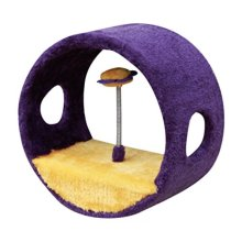 Vortex - PetPals  Vortex Fleece Ring of Teasing Toy, 11 x 6 x 11""