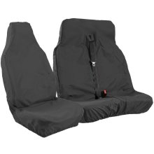 VAN SEAT COVERS - BLACK WATERPROOF HEAVY DUTY SEAT COVERS