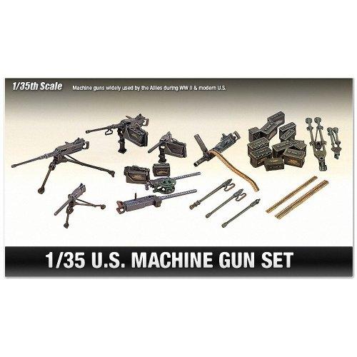 Aca13262 - Academy 1:35 - Us Wwii Machine Gun Set